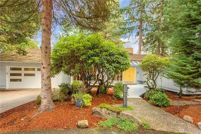 Mercer Island Single Family Home For Sale: 7704 88th Place SE