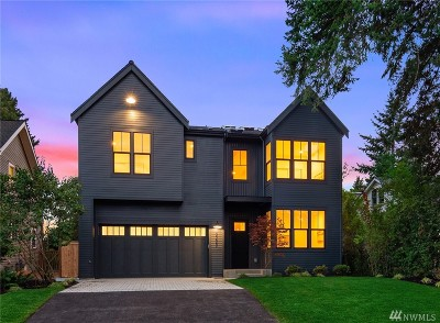 Seattle Single Family Home For Sale: 3223 NE 89th St