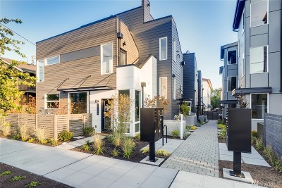 Seattle Single Family Home For Sale: 1117 NW 56th St #E