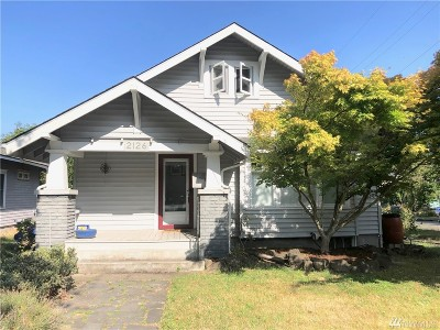 Olympia Single Family Home For Sale: 2126 Capitol Wy S