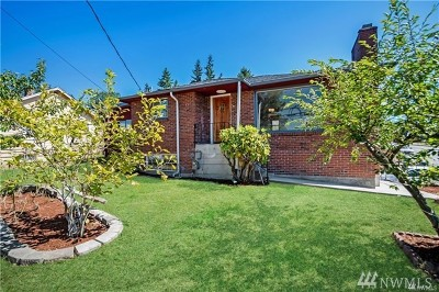 Seattle Single Family Home For Sale: 10206 4th Ave SW