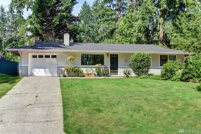 Redmond Single Family Home For Sale: 13727 NE 76th Place