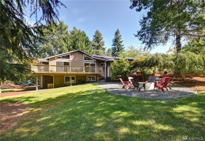 Woodinville Single Family Home For Sale: 16415 NE 148th St