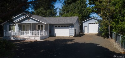 Grays Harbor County Single Family Home For Sale: 262 Calawah St SW