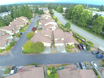 Everett Condo/Townhouse For Sale: 1121 132nd St SW #B