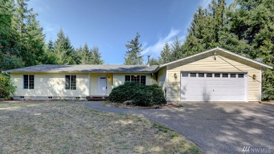 Shelton Single Family Home For Sale: 4211 SE Bloomfield Rd