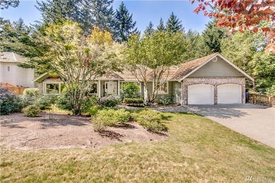 Gig Harbor Single Family Home For Sale: 13110 Bracken Fern Dr NW
