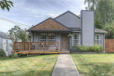 Olympia Single Family Home For Sale: 1505 Dickinson Ave NW