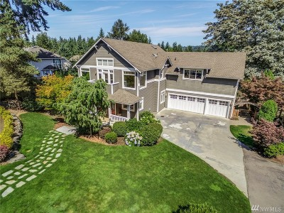Bellevue WA Single Family Home For Sale: $1,995,000