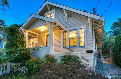 Seattle Single Family Home For Sale: 5524 29th Ave NE