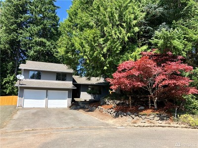 Bremerton Single Family Home For Sale: 7237 Harvard Ct NW