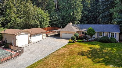 Snohomish Single Family Home For Sale: 17818 108th St SE