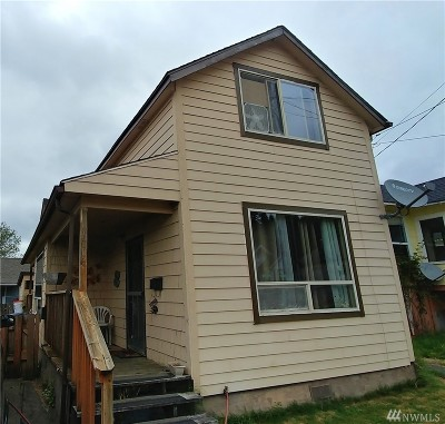 Grays Harbor County Multi Family Home For Sale: 1106 E First