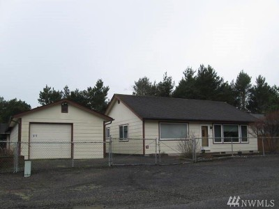 Grays Harbor County Single Family Home For Sale: 1213 Johnson St