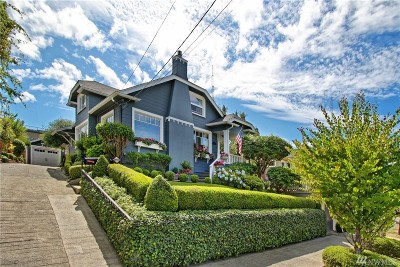 Seattle Single Family Home For Sale: 315 Hayes St