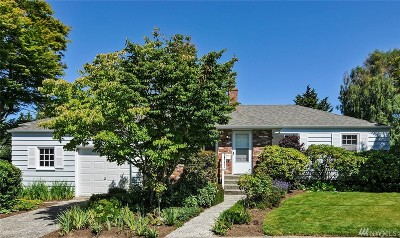 Seattle Single Family Home For Sale: 3914 NE 82nd St