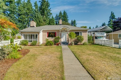 Shoreline Single Family Home For Sale: 728 N 190th St