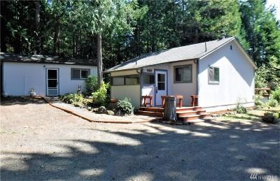 Brinnon Single Family Home For Sale: 630 Green Mountain Lane