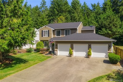 Pierce County Single Family Home For Sale: 3406 59th St Ct NW