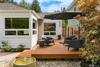 Seattle Single Family Home For Sale: 4535 SW Director St