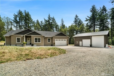 Tenino Single Family Home For Sale: 3037 137th Lane SW