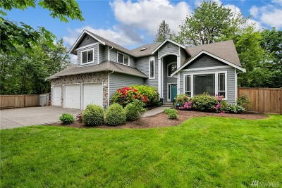 Snohomish Single Family Home For Sale: 9724 156th St SE