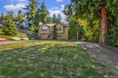 Poulsbo Single Family Home Pending Inspection: 1799 NW Mulholland Blvd