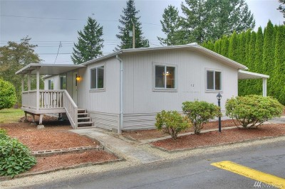 Lacey Single Family Home For Sale: 7300 32nd Ave NE #12