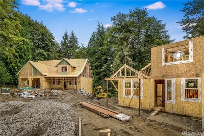 Snohomish Single Family Home For Sale: 8126 194th Drive SE (Lot 5)