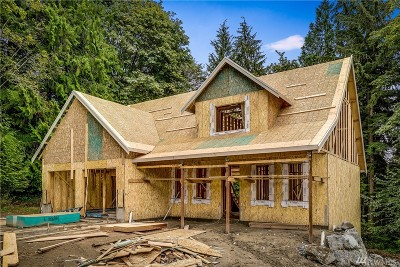 Snohomish Single Family Home For Sale: 8132 194th Drive SE (Lot 6)