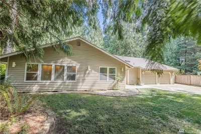 Olympia Single Family Home For Sale: 3032 Sunset Beach Dr NW
