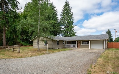Single Family Home For Sale: 22041 Old Highway 99 SW