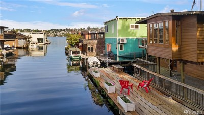 Seattle Single Family Home For Sale: 2460 Westlake Ave N #A