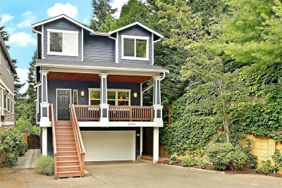 Seattle Single Family Home For Sale: 2541 NE 85th St