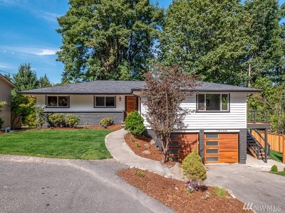 Kenmore Single Family Home For Sale: 18726 56th Ave NE