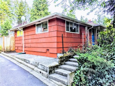 Shoreline Single Family Home For Sale: 17844 5th Ave NE