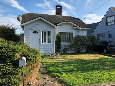 Grays Harbor County Single Family Home For Sale: 2419 Cherry St