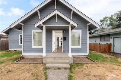 Pierce County Single Family Home For Sale: 6640 S Montgomery St