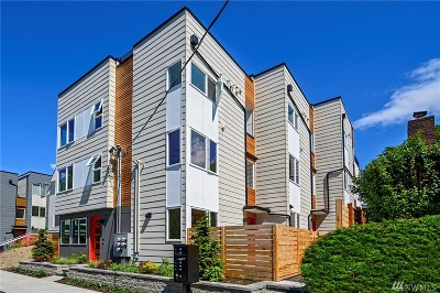 Seattle Single Family Home For Sale: 1530 13th Ave S #E