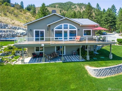 Chelan Single Family Home For Sale: 4041 Lakeview Place
