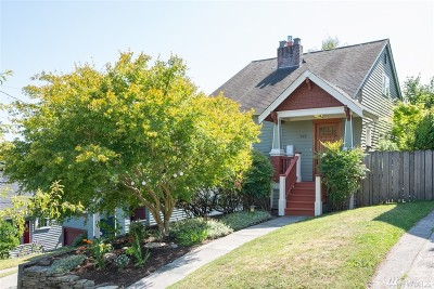 Seattle Single Family Home For Sale: 509 N 71st St
