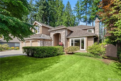 Sammamish Single Family Home For Sale: 25730 SE 31st Place
