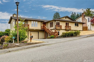 Bellingham WA Single Family Home For Sale: $850,000