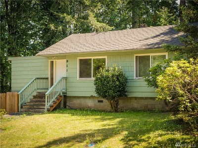 Shelton Single Family Home For Sale: 911 Olympic Ave