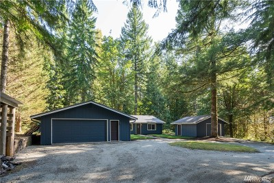 North Bend WA Single Family Home For Sale: $638,500