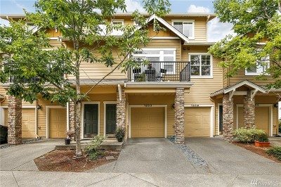 Issaquah Condo/Townhouse For Sale: 1853 16th Lane NE