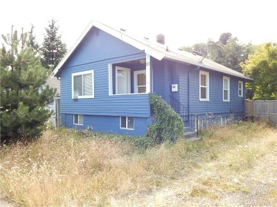Bremerton Single Family Home For Sale: 121 S Wycoff Ave