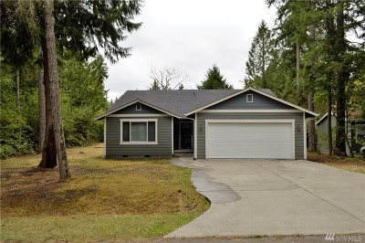 Yelm Single Family Home For Sale: 21736 183rd Ave SE