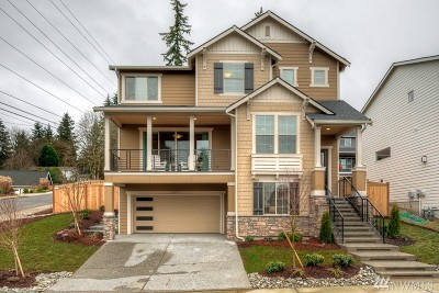 Kenmore Single Family Home For Sale: 8329 NE 166th St #Lot 2