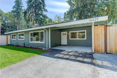 Bellevue Single Family Home For Sale: 14629 SE 42nd Street